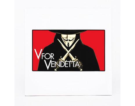 """Коробочка """"V for Vendetta """""""