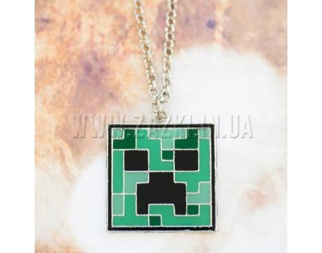 "Підвіска ""Minecraft Creeper"""