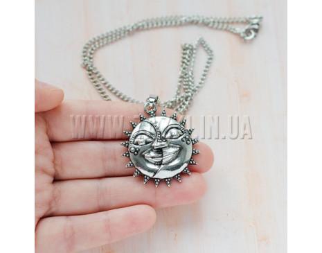 """Кулон """"Солнце и Луна"""""""