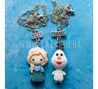 Лучшие друзья Эльза и Олаф