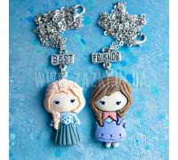 Лучшие друзья Эльза и Анна