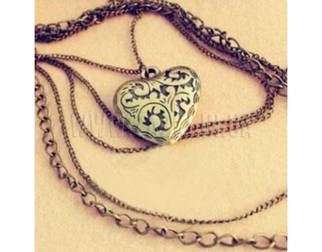 """Подвеска """"Сердце и цепи"""""""