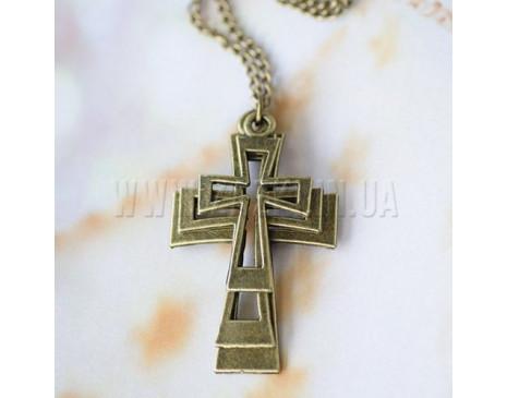 """Підвіска """"Потрійний хрест"""""""