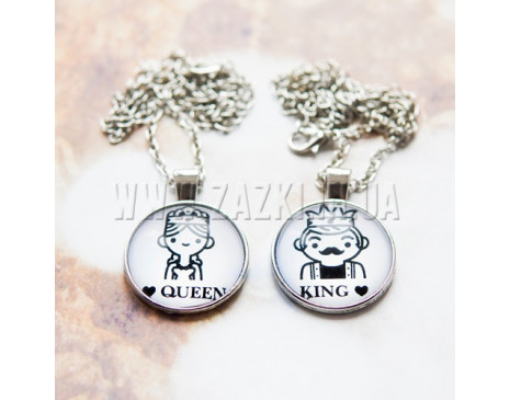 "Кулони ""King & Queen"""