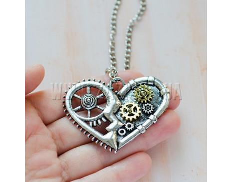 "Кулон ""Steampunk Heart"""