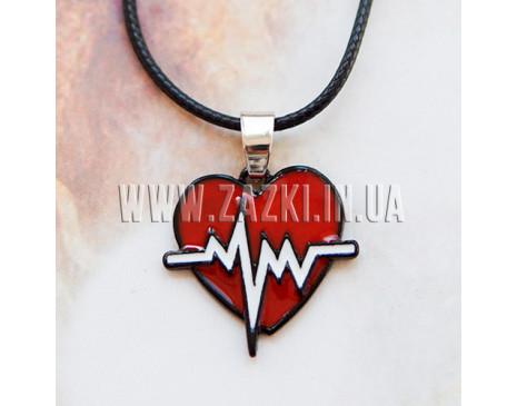 """Кулон """"Heartbeat"""""""