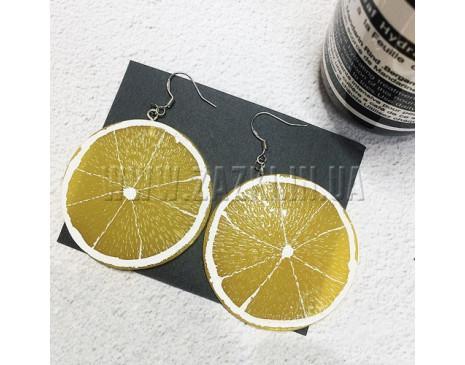 "Серьги ""Лимон"""
