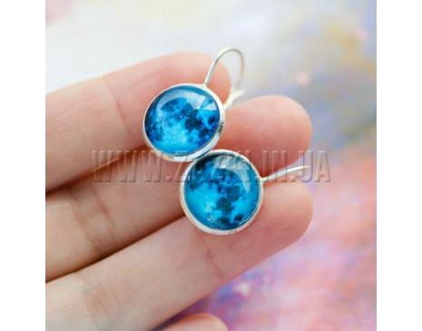 "Серьги ""Blue Moon"""
